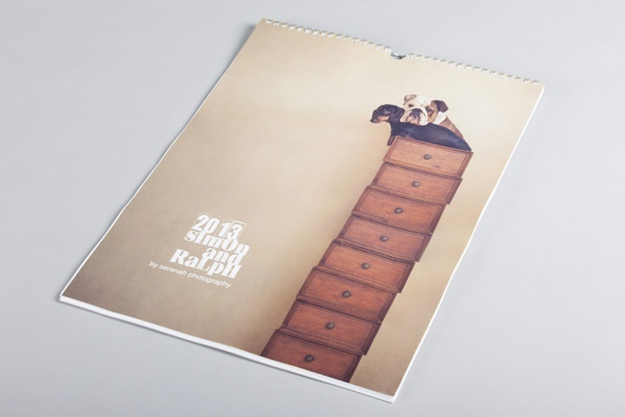 Image Number 1 of Product - Calendars with Twin Loop Wiro Binding