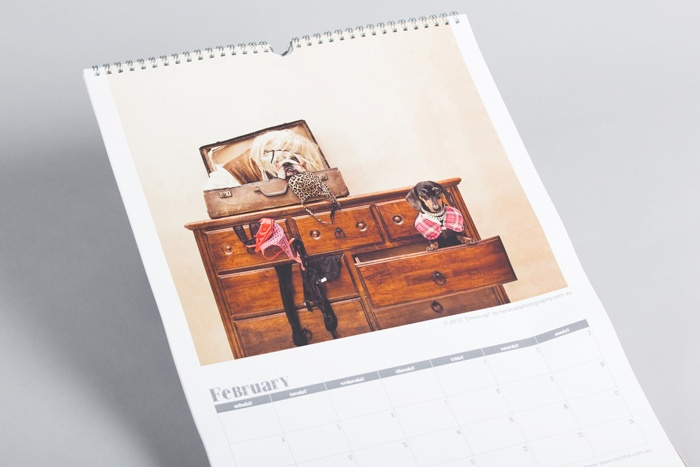 Image Number 2 of Product - Calendars with Twin Loop Wiro Binding